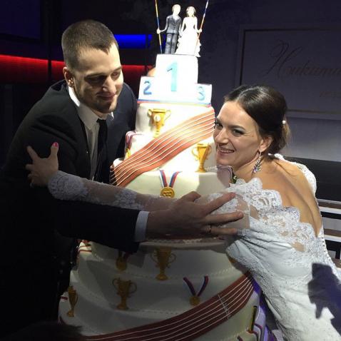 исинбаева фото свадьба