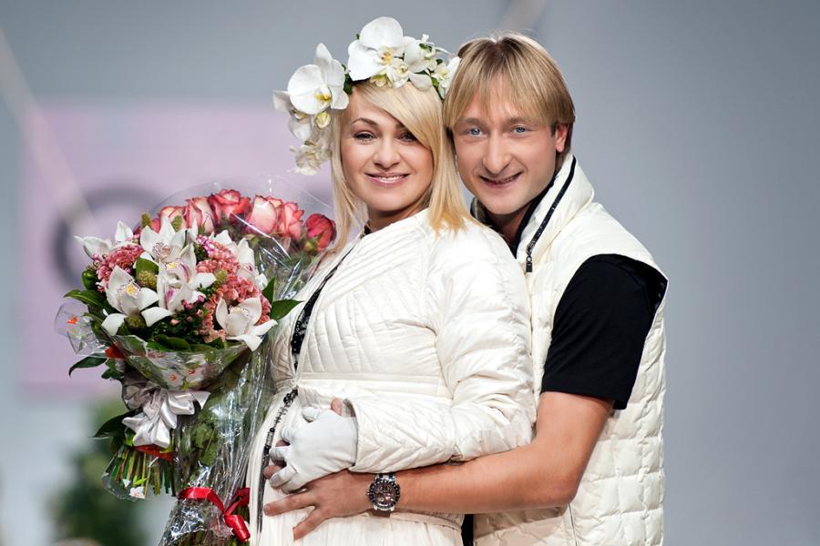 Яна Рудковская ожидает ребенка от Евгения Плющенко