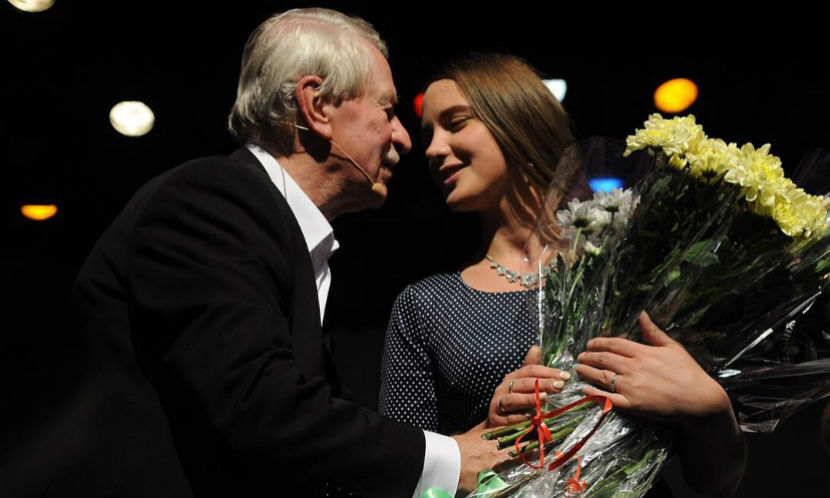 Молодая жена Ивана Краско опубликовала с ним первое селфи