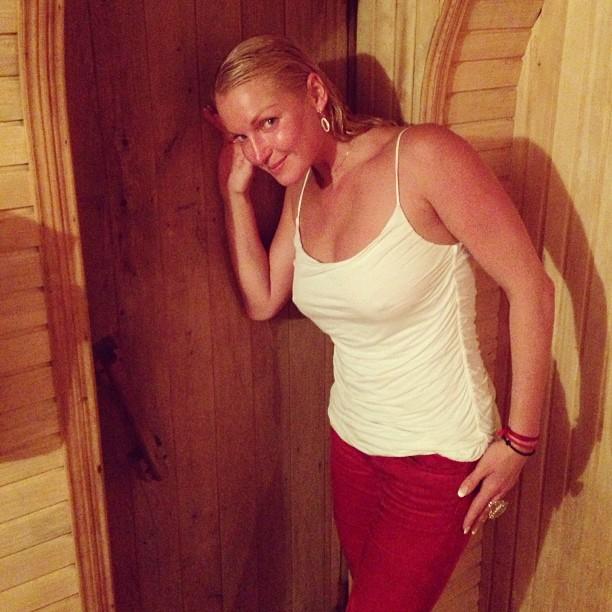В бане с блондинкой