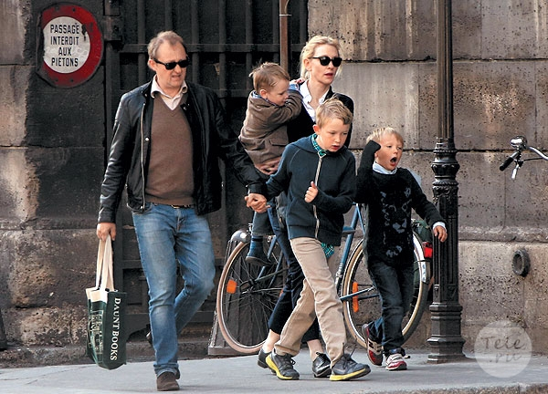 кейт бланшетт с семьей фото