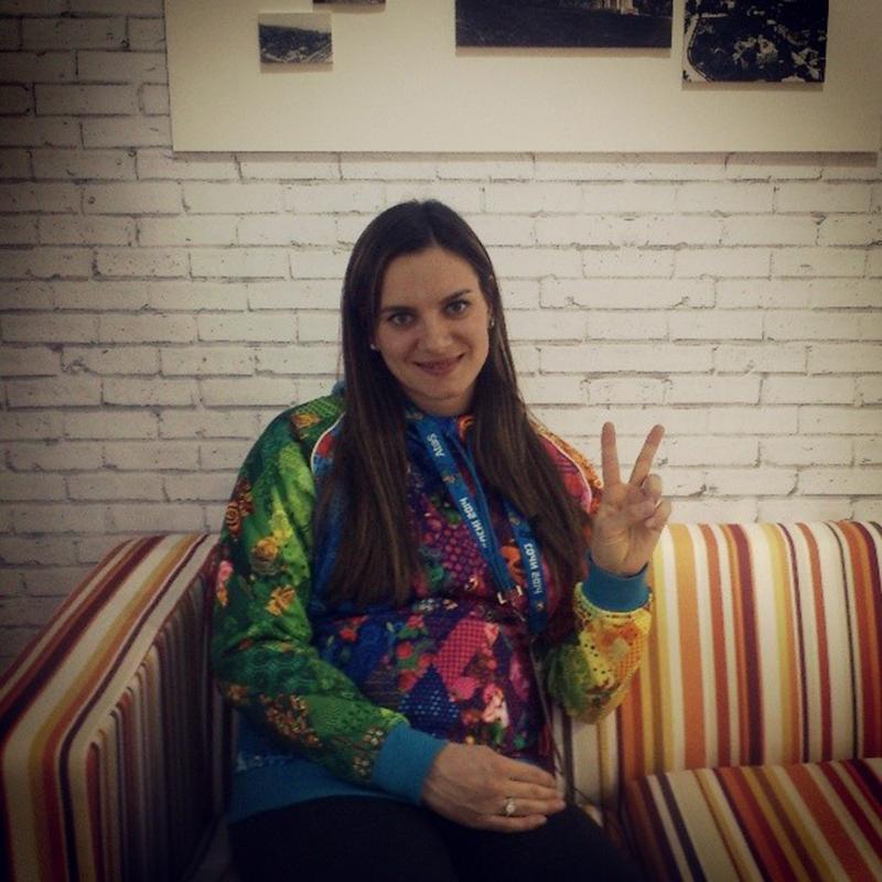 Елена Исинбаева стала мамой