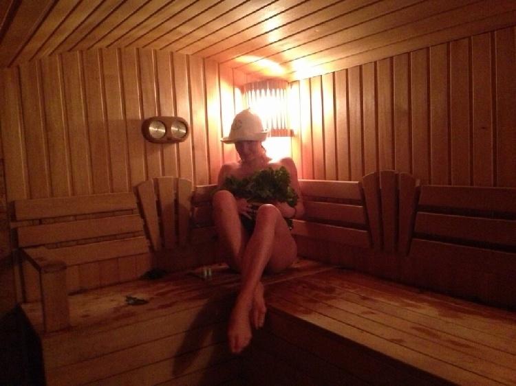 Фото ню волочковой в бане