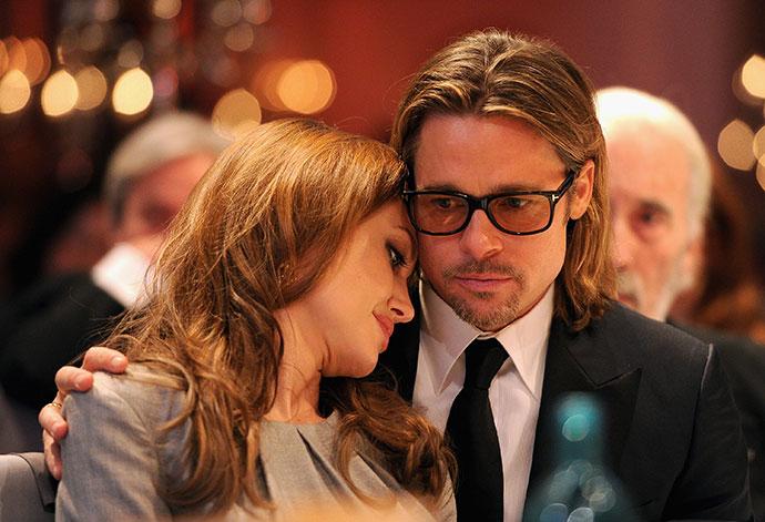 Дети Анджелины Джоли стали называть Джонни Деппа отцом